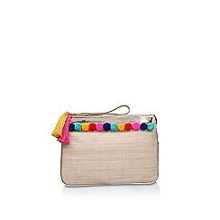 Miss KG - Beige 'Hessy' clutch bag