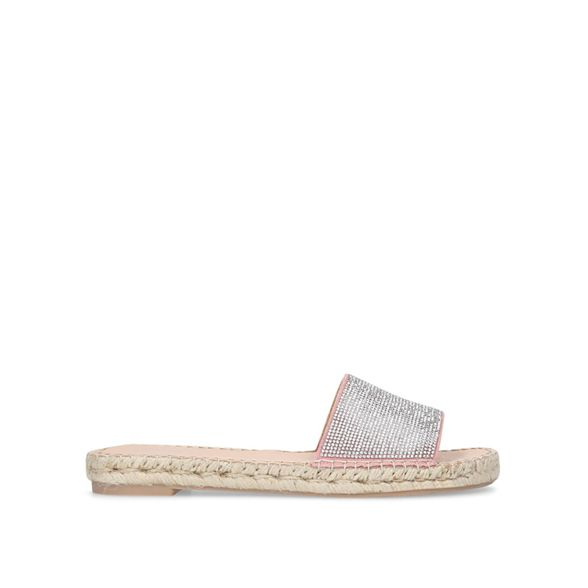 Carvela style Karly sandals Pink slider zxHa8xgqw