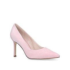 Nine West - Pink 'Emmala' mid heel court shoes