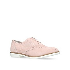 Carvela - Nude 'Lad' flat brogue shoes