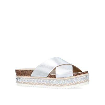 Carvela - - - 'Kake' cross-strap sliders 7c20cf