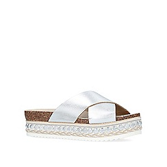 Carvela - 'Kake' cross-strap sliders