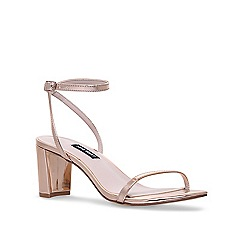 Nine West - Gold 'Provein' mid heel sandals