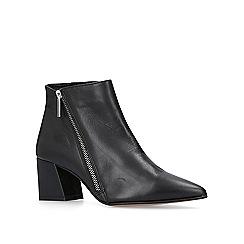 Carvela - Black Signet block heel ankle boots