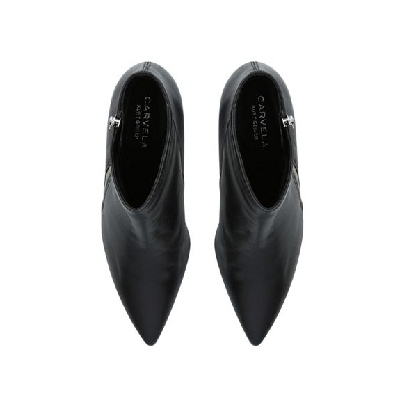 ankle block boots heel Carvela Black Signet qfIRP