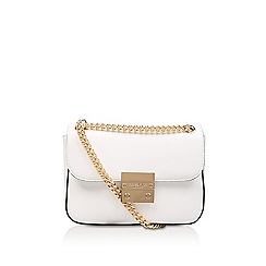 Carvela - White 'Grappa' cross body bag