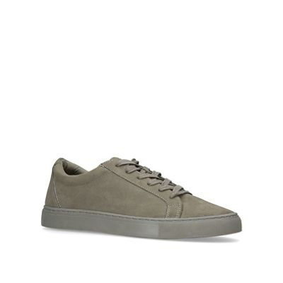 KG Kurt Geiger - Taupe 'Whitworth' low top trainers