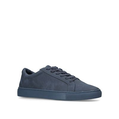 KG Kurt Geiger - Navy 'whitworth' blue low top trainers