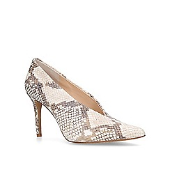 Vince Camuto - Cream 'Ankia' leather court shoes