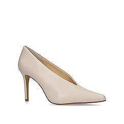 Vince Camuto - Nude 'Ankia' leather court shoes