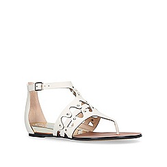 Vince Camuto - White 'Arlanian' flat sandals