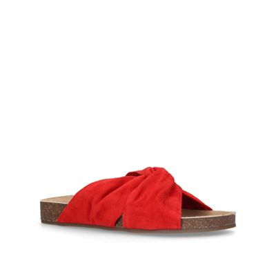Vince Camuto - Red 'Biminti' flat sandals