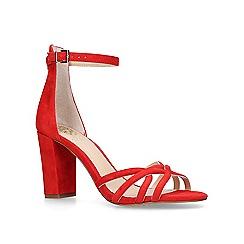 Vince Camuto - Red 'Catelia' block heel sandals