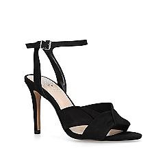 Vince Camuto. Black 'Jenika' stiletto heel sandals