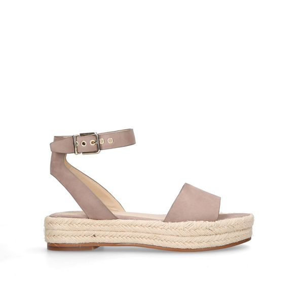 'Kathalia' Nude sandals flatform Camuto Vince zqaw44