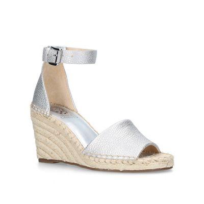 d6d9aae4ede Vince Camuto - Silver  Leera  high wedge sandals