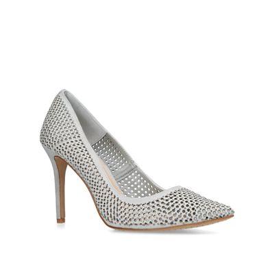 Vince Camuto - Grey 'Sarritah' stiletto heel court shoes