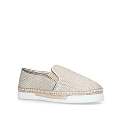Vince Camuto - Gold 'Tambie' flat espadrilles
