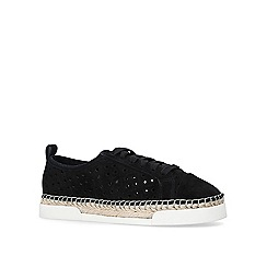 Vince Camuto - Black 'Theera' lace up trainers