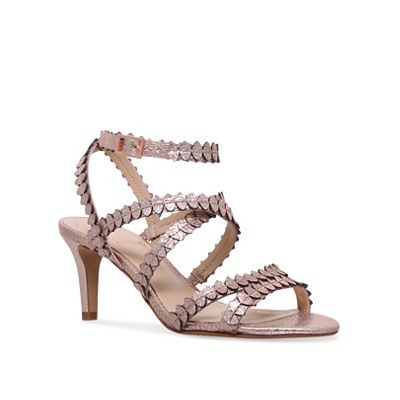 Vince Camuto - Gold 'Yuria' mid heel sandals