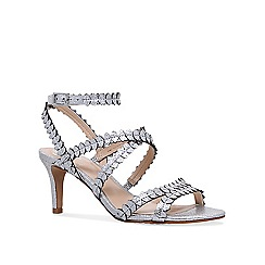 Vince Camuto - Silver 'Yuria' mid heel sandals