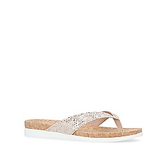 Carvela - Nude 'Barb' flat sandals