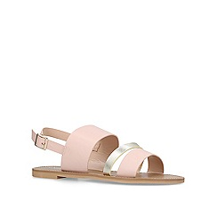 Carvela - Nude 'Blink' flat sandals