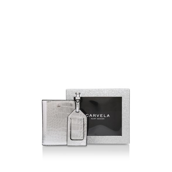 set 'Tame Silver travel Gift Travel Carvela Set' gift aFRqZqO