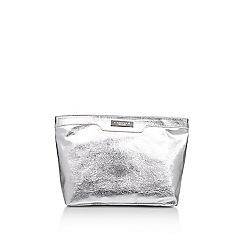 Carvela - Silver 'Penny Cosmetic Bag Large' large cosmetics bag