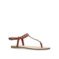 Carvela - Tan 'Bonus' flat sandals