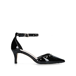 Carvela - Black 'Kanter' low heel court shoes