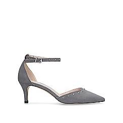 Carvela - Grey 'Kanter' low heel court shoes