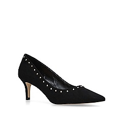 Carvela - Black 'Krispin' mid heel court shoes