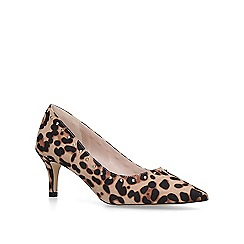 Carvela - Leopard 'Krispin' print mid heel court shoes