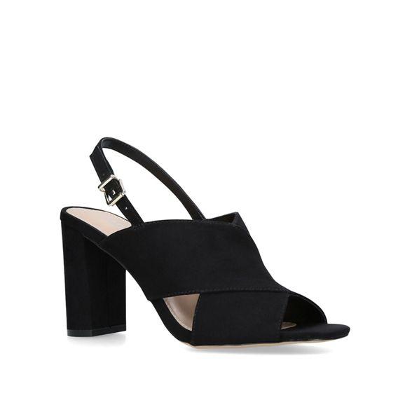 block 'Litt' sandals heel Black Carvela 58Xaqgw