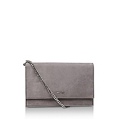 Nine West - Grey 'Anndi' Suedette Clutch Bag