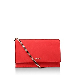 Nine West - Red 'Anndi' Suedette Clutch Bag