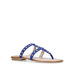 Carvela - Blue 'Brink' flat sandals