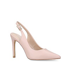 Carvela - Nude 'Klass' high heel court shoes