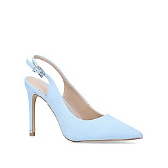 Carvela - Blue 'Klass' high heel court shoes