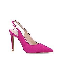 Carvela - Purple 'Klass' high heel court shoes