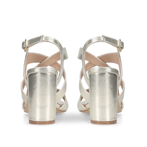 heel Gold high sandals 'Saddle' Carvela dtfxqt