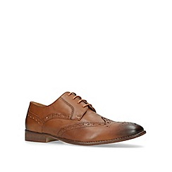 KG Kurt Geiger - Tan 'Thornbury' brogue shoes