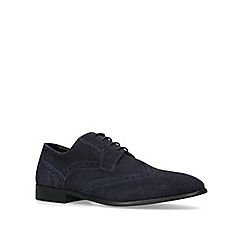 KG Kurt Geiger - Navy 'Thornbury' brogue shoes