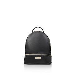 Carvela - Black 'Suzie zip backpack