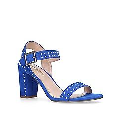 Miss KG - Blue 'Ella' mid heel sandals