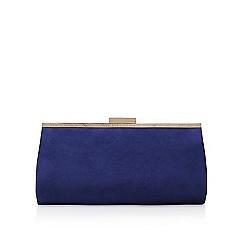 Miss KG - Navy 'Hush' clutch bag