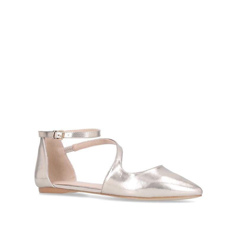 Debenhams Grey Court Shoes
