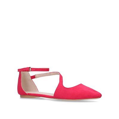 Carvela - Pink 'Meverick' flat court shoes