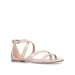 Carvela - Nude 'Bee' flat sandals